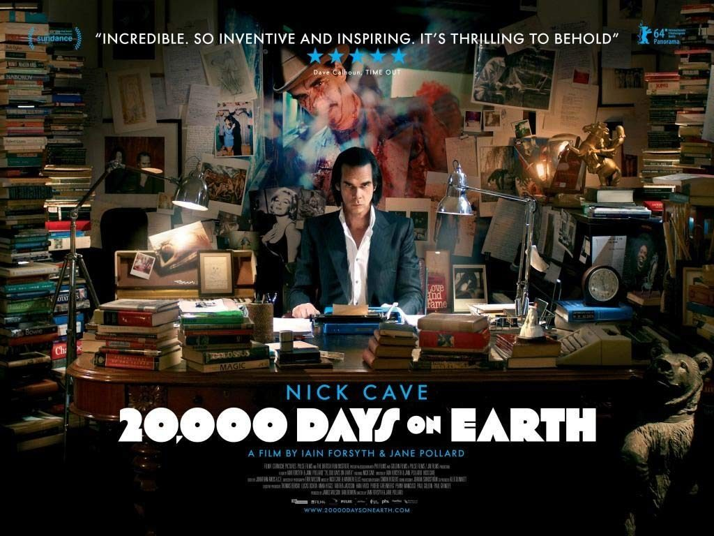 20,000 Days on Earth - UK poster