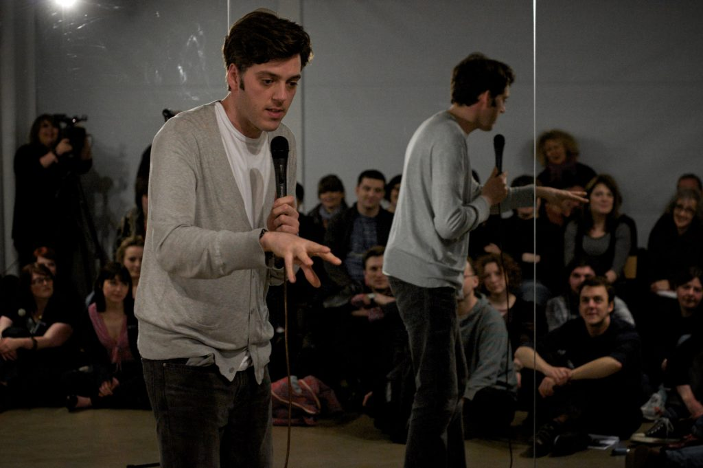 Performer. Audience. Fuck Off.