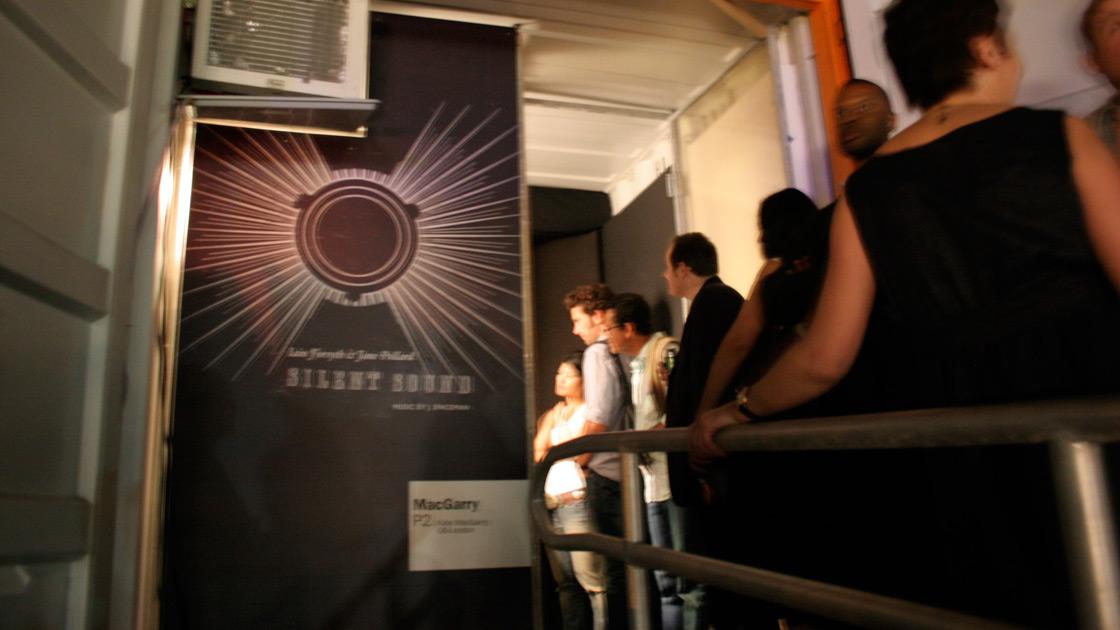 Silent Sound installation at Art Basel